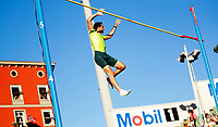 Friidrett<br /> Bislett Games<br /> Bislett Stadion <br /> 11.06.14<br /> Renaud Lavillenie over vinnerhøyden , 5.70<br /> <br /> Foto: Eirik Førde