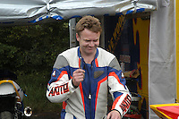 Trevor Keyes, Banbridge, N Ireland, UK, rider, Ulster Grand Prix, practice,200208150414.<br />