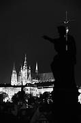 St Virus Cathedral within Prague castle, Prague, Czech Republic