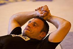 23.08.2011, Stanglwirt, Going, AUT, Vitali Klitschko, Training, im Bild Vitali Klitschko bei Dehnungsübungen // during a trainingssession at Hotel Stanglwirt in Going, Austria on 23/8/2011. EXPA Pictures © 2010, PhotoCredit: EXPA/ J. Groder