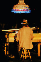 Neil Young playing piano at Massey Hall in Toronto, Canada May 11th 2011.