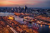 Port of Seattle & Downtown Seattle