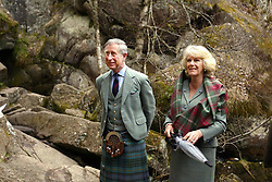 File photo dated 24/04/06 of the Prince of Wales and the Duchess of Cornwall visiting Muir of Dinnet National Nature Reserve on Royal Deeside in Scotland. Charles and Camilla are celebrating their 15th wedding anniversary on Friday, after they were reunited on Monday when the 72-year-old duchess came out of a 14-day self-isolation on the Balmoral estate in Aberdeenshire.