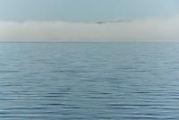 Fog on Lake Winnisquam.  ©2016 Karen Bobotas Photographer