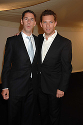 Left to right, property developers CHRIS CANDY and NICK CANDY at the Berkeley Square End of Summer Ball in aid of the Prince's Trust held in Berkeley Square, London on 27th September 2007.<br /><br />NON EXCLUSIVE - WORLD RIGHTS