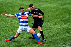 Zaïd El Jallouli of VV Maarssen in action. First friendly match after the Corona outbreak. VV Maarssen lost the away match against big league Spakenburg 5-1 on 4 July 2020 in Spakenburg.