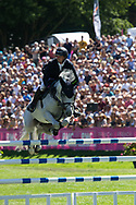 Mclain Ward and Clinta during the Jumping International of Dinard on August 2 at 5, 2018 at Val Porée in Dinard, France - Photo Damien Kilani / DK Prod / ProSportsImages / DPPI