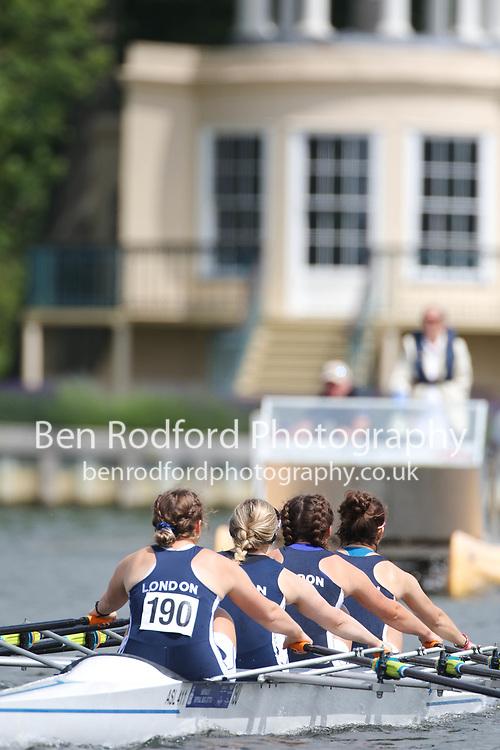 Aspirational 4x  Heat<br /> <br /> London RC (A)<br /> Edinburgh University <br /> <br /> Henley Women's Regatta 2021<br /> Saturday