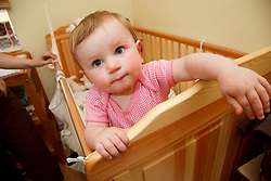Baby into cot