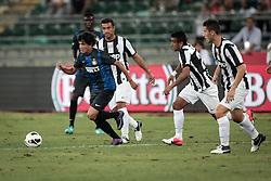 Bari (BA) 21.07.2012 - Trofeo Tim 2012. Inter - Juventus. Nella Foto: Coutinho sx (I), Quagliarella (J) e Vidal (J)