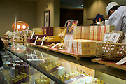 display in a store of Wagashi a traditional Japanese sweet delicatessen
