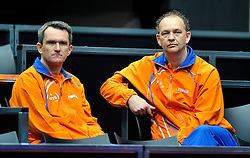 08-05-2011 TAFELTENNIS: WORLD TABLE TENNIS CHAMPIONSHIPS: ROTTERDAM<br /> Coaches <br /> ©2011-FotoHoogendoorn.nl
