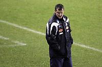 Fotball<br /> Tippeligaen Eliteserien<br /> 28.10.07<br /> Ullevaal Stadion<br /> Vålerenga VIF - Aalesund AaFK<br /> Trener Per Joar Hansen - Perry<br /> Foto - Kasper Wikestad
