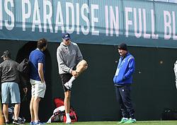 March 10, 2019 - Palm Desert, California, Usa - Tennis : BNP Paribas Open 2019 - John Isner - Usa (Credit Image: © Panoramic via ZUMA Press)