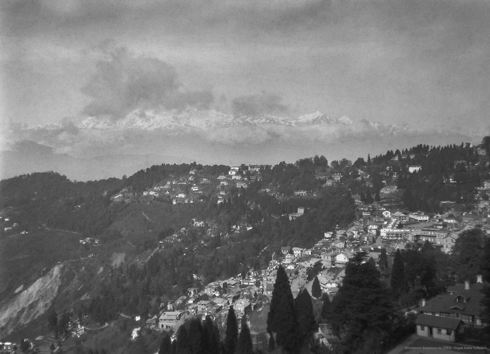 Mount Everest, Darjeeling, India, 1929