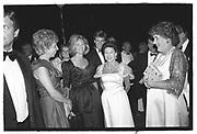 ANNA MURDOCH, PRINCESS MARGARET, Leukemia charity Ball, Hurlingham club. July 1985