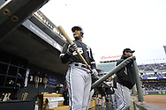 MINNEAPOLIS - MAY 11:  Andruw Jones #25 of the Chicago White Sox looks on from the dugout during the game against the Minnesota Twins on May 11, 2010 at Target Field in Minneapolis, Minnesota.  The White Sox defeated the Twins 5-2.  (Photo by Ron Vesely)