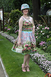 June 22, 2017 - Ascot, United Kingdom - Image licensed to i-Images Picture Agency. 22/06/2017. Ascot , United Kingdom. Race goers arriving for Ladies Day at Royal Ascot in Berkshire, United Kingdom. Picture by Stephen Lock / i-Images (Credit Image: © Stephen Lock/i-Images via ZUMA Press)