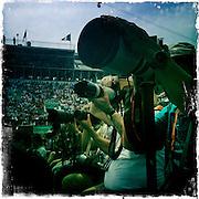 Roland Garros. Paris, France. May 30th 2012.Photographers at work