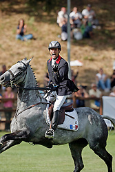 Touzaint Nicolas (FRA) - Galan De Sauvagere<br /> Eiropean Championship Pratoni del Vivaro 2007<br /> Photo © Hippo Foto