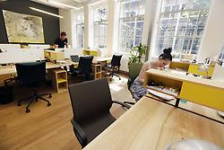 June 1, 2018 - Prague, Czech Republic - Opero, shared office space in Prague, the First Cowork Open House in Czech Republic, Friday, June 1st, 2018. (Credit Image: © Michaela Rihova/CTK via ZUMA Press)