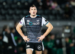 Cai Evans of Ospreys<br /> <br /> Photographer Simon King/Replay Images<br /> <br /> Guinness PRO14 Round 6 - Ospreys v Connacht - Saturday 2nd November 2019 - Liberty Stadium - Swansea<br /> <br /> World Copyright © Replay Images . All rights reserved. info@replayimages.co.uk - http://replayimages.co.uk