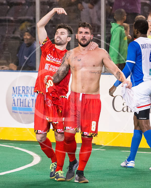 The Blast defeat the Comets 4-3 in double OT to advance to the MASL Championship.  Lucas Roque ties the game late in the 3rd period, and scores the game winner in double OT.