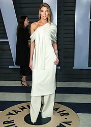 BEVERLY HILLS, LOS ANGELES, CA, USA - MARCH 04: 2018 Vanity Fair Oscar Party held at the Wallis Annenberg Center for the Performing Arts on March 4, 2018 in Beverly Hills, Los Angeles, California, United States. 04 Mar 2018 Pictured: Martha Hunt. Photo credit: IPA/MEGA TheMegaAgency.com +1 888 505 6342