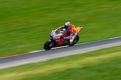 June 2, 2018 - Scarperia, Italy - Andrea Dovizioso of Ducati Team during the 2018 MotoGP Italian Grand Prix Free Practice 3 at Circuito del Mugello, Florence, Italy on 2 June 2018. (Credit Image: © Giuseppe Maffia/NurPhoto via ZUMA Press)