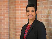 Rashele Jones poses for a photograph at Madison High School, February 19, 2015.