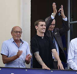July 20, 2018 - Macon, France - ANTOINE GRIEZMANN   DE RETOUR A MACON .APRES SON TITRE DE CHAMPION DU MONDE (Credit Image: © Panoramic via ZUMA Press)