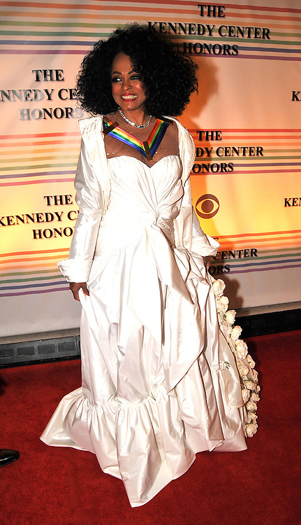 Diana Ross  arriving at The 30th Kennedy Center Honors, in Washington, DC , December 2, 2007.  The 2007 honorees are pianist Leon Fleisher, actor Steve Martin, Ross, film director Martin Scorsese and musician Brian Wilson.