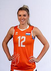 Britt Bongaerts of Netherlands, Photoshoot selection of Orange women's volleybal team season 2021on may 12, 2021 in Arnhem, Netherlands (Photo by RHF Agency/Ronald Hoogendoorn)