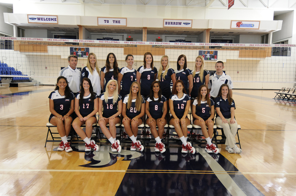 2010 FAU Volleyball Photo Day