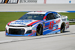 November 2, 2018 - Fort Worth, TX, U.S. - FORT WORTH, TX - NOVEMBER 02: Monster Energy NASCAR Cup Series driver AJ Allmendinger (47) drives down pit row during practice for the AAA Texas 500 on November 02, 2018 at the Texas Motor Speedway in Fort Worth, Texas. (Photo by Matthew Pearce/Icon Sportswire) (Credit Image: © Matthew Pearce/Icon SMI via ZUMA Press)