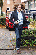 OCT 5 2012 Justin Lee Collins Court Arrival