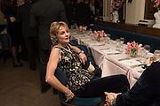 LADY LLOYD WEBBER, Nicky Haslam hosts dinner at  Gigi's for Leslie Caron. 22 Woodstock St. London. W1C 2AR. 25 March 2015