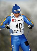 Langrenn, 22. november 2003, Verdenscup Beitostølen,  Jenny Olsson, Sverige