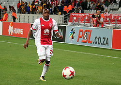 Bantu Mzwakali in action for Ajax Cape Town in the match between Ajax Cape Town and Golden Arrows at the Cape Town Stadium on Saturday, August 19, 2017.