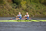Crew: 26 - Scrine / Whittle - Sons of the Thames Rowing Club - Op MasF 2x <br /> <br /> Pairs Head 2020