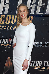 NEW YORK, NY - JANUARY 17: Sonequa Martin-Green at the Star Trek: Discovery Season 2 Premiere at Conrad in New York City on January 17, 2019. 17 Jan 2019 Pictured: Hannah Cheesman. Photo credit: MPIJP/Capital Pictures / MEGA TheMegaAgency.com +1 888 505 6342
