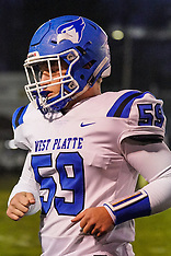 West Platte Football October 16, 2020
