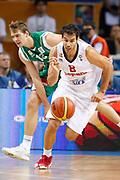 DESCRIZIONE : Kaunas Lithuania Lituania Eurobasket Men 2011 Quarter Final Round Spagna Slovenia Spain Slovenia<br /> GIOCATORE : Jose Calderon<br /> CATEGORIA : contropiede palleggio<br /> SQUADRA : Spagna Spain<br /> EVENTO : Eurobasket Men 2011<br /> GARA : Spagna Slovenia Spain Slovenia<br /> DATA : 14/09/2011<br /> SPORT : Pallacanestro <br /> AUTORE : Agenzia Ciamillo-Castoria/ElioCastoria<br /> Galleria : Eurobasket Men 2011<br /> Fotonotizia : Kaunas Lithuania Lituania Eurobasket Men 2011 Quarter Final Round Spagna Slovenia Spain Slovenia<br /> Predefinita :