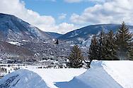 McRae Williams during Ski Slopestyle Practice during 2015 X Games Aspen at Buttermilk Mountain in Aspen, CO. ©Brett Wilhelm/ESPN