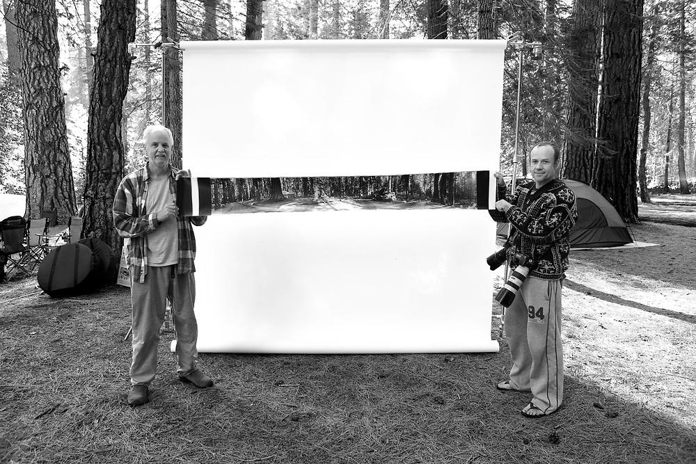 Ed Beggs & Travis Price in Tuolumne Meadow