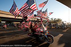Flag Bike. Milwaukee, WI. 2008<br /> <br /> Limited Edition Print from an edition of 30. Photo ©2008 Michael Lichter.