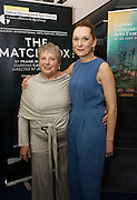 18/07/2015 repro free. Anna Belton and daughter and Actor Cathy Belton at World Premiere of The Match Box  a The Galway International Arts Festival production written by Frank MccGuinness and starring Cathy Belton at the Town Hall Theatre, Galway .  <br /> Photo:Andrew Downes:XPOSURE