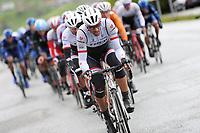 Sykkel<br /> Tour des Fjords 2015<br /> Foto: imago/Digitalsport<br /> NORWAY ONLY<br /> <br /> Fabian CANCELLARA ( SWI / Trek Factory Racing ) fuehrt das Fahrerfeld an - Edelhelfer - Edledomestik - Aktion - Rennszene - Querformat - quer - horizontal - Event / Veranstaltung: Tour des Fjords - Fjord Rundfahrt 2015 - Stage 1 / 1.Etappe: Bergen nach Norheimsund 177.0 km - Location / Ort: Norheimsund - Norway - Norwegen - Europe - Europa - Date / Datum: 27.05.2015