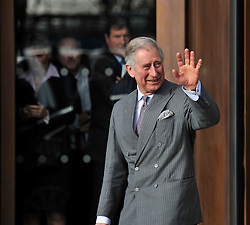 © Licensed to London News Pictures. 4 February 2013. Oxford. Departing after the visit. HRH Prince Charles visited the Said Business School to officially open the new building. Photo credit : MarkHemsworth/LNP