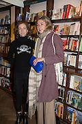 FRED LEITAO; SUSAN GRECO Allie Esiri's The Love Book launch party , Daunt Books <br /> 83 Marylebone High Street, London. 5 February 2014